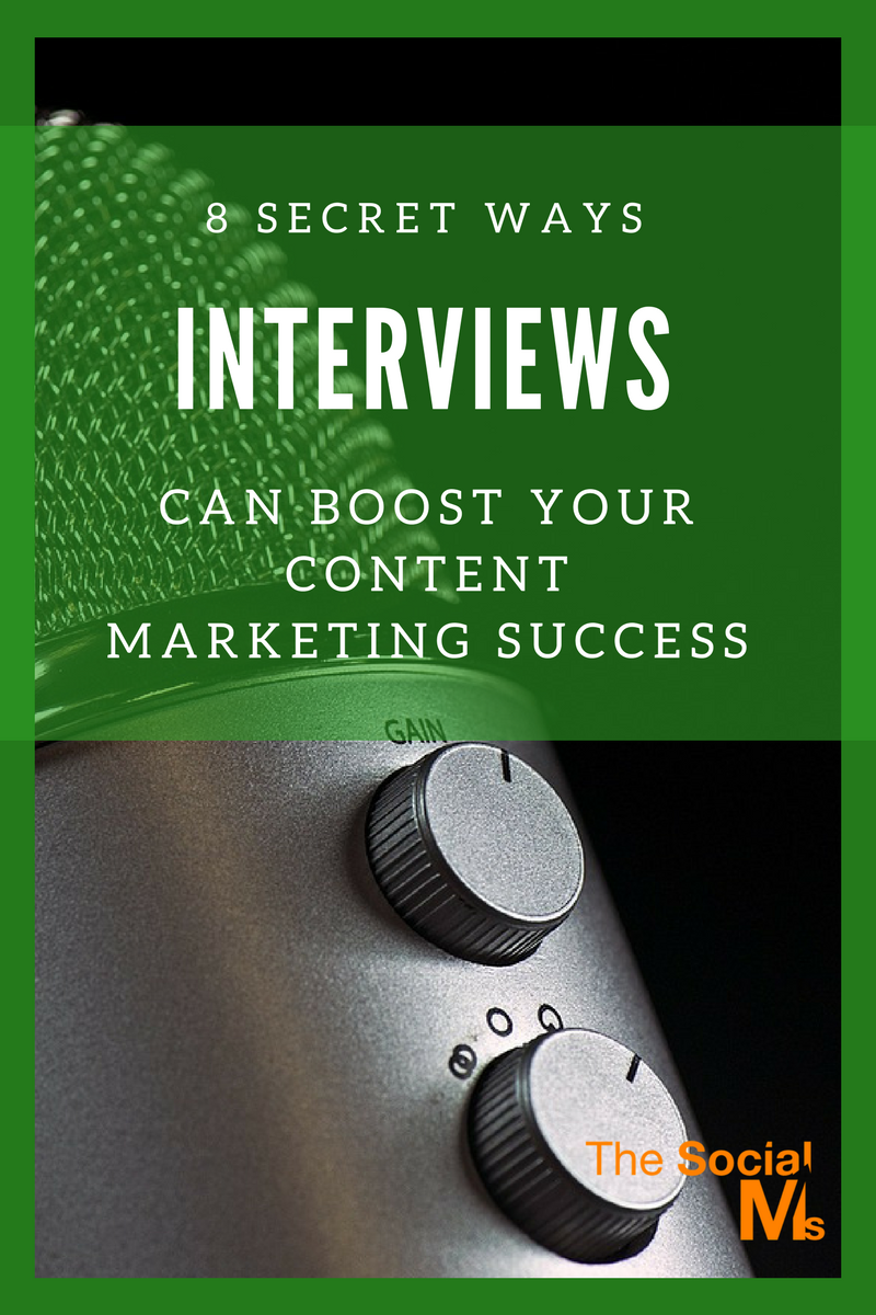 secret ways interviews can boost your content marketing success are you using interviews for content marketing success here is how you can utilize the