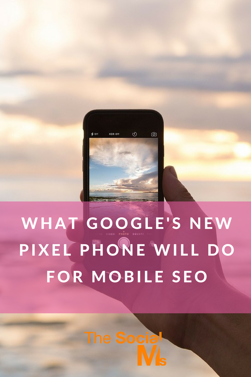 Google's new mobile phone Pixel - or rather Google's new voice software Google Assistant - is going to impact mobile SEO. Here is what you should consider.