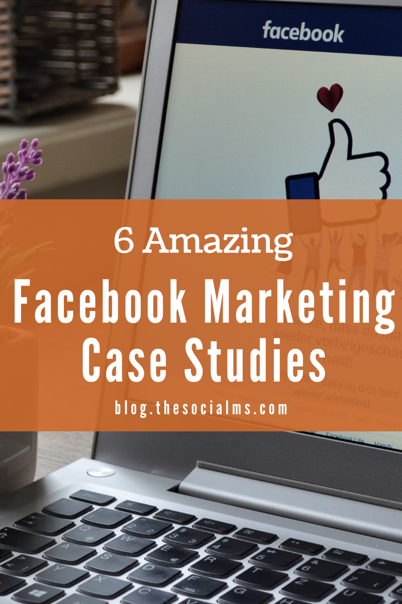 Here are 6 examples of brands that win big with their Facebook marketing. Even if your situation is different, you can still learn from these amazing Facebook marketing case studies how to leverage the Facebook audience! #facebook #facebookexamples #facebookmarketing #facebooktips #socialmedia #socialmediatips #socialmediamarketing