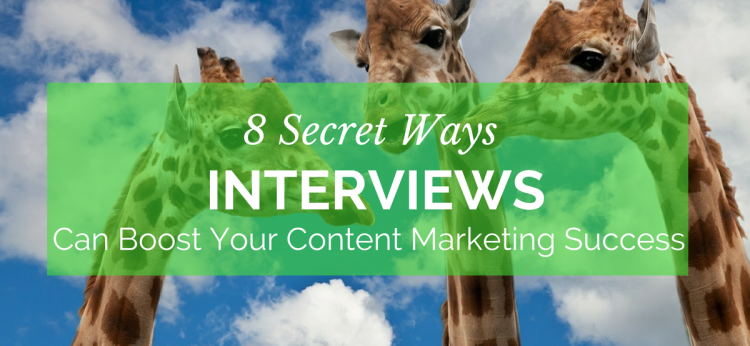 interviews boost content marketing success