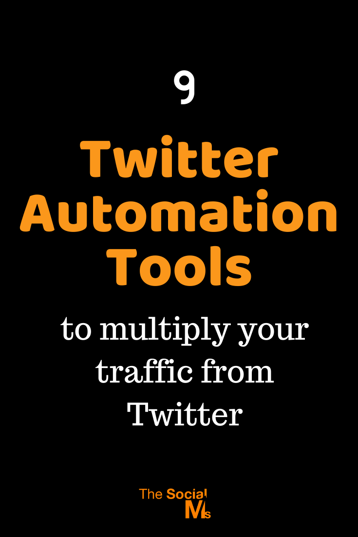 Here are 9 tools to help you master all your Twitter tasks and free up your time for other things to do. For more traffic, you need to tweet more and engage more on your Twitter account. These tools help you get it done. #twitter #socialmediaautomation #twittertools #socialmediatools #marketingautomation #automationtools