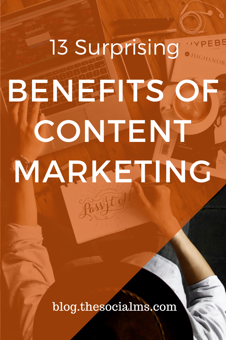 what can you achieve with content marketing? Here are 13 benefits of content marketing #contentmarketing #digitalmarketing #onlinemarketing #contentmarketingstrategy