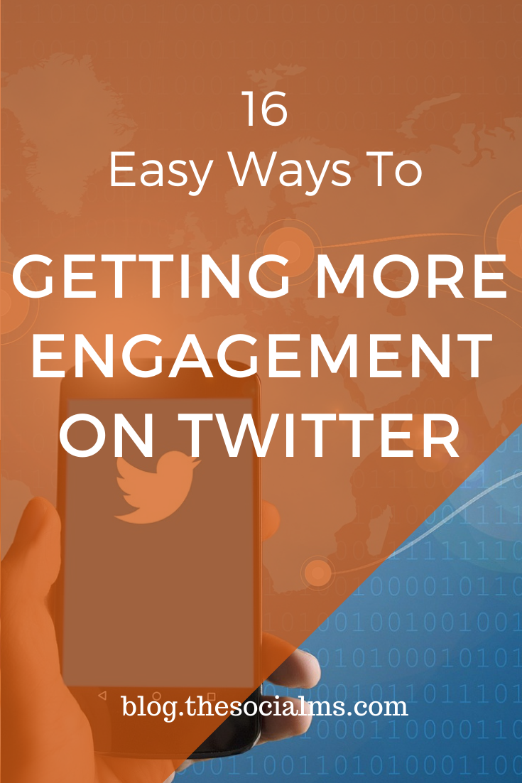 Engagement is crucial for online marketing success. Engagement helps you build your relationship and trust with your followers. It makes you stand out and adds personality. Use one of these 16 tips to increase your engagement on Twitter. #twitter #twittertips #twittermarketing #socialmedia #socialmediatips #socialmediamarketing