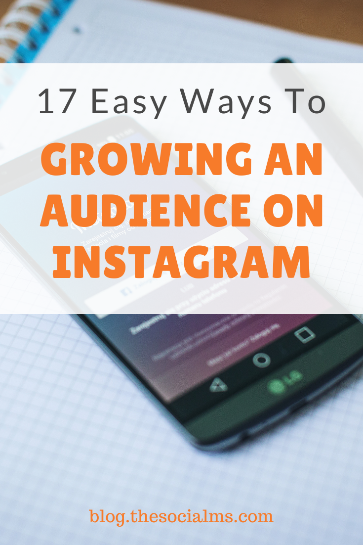 Instagram is a very open and engaged community. It is easy to talk to strangers, and it is also fairly easy to get strangers to follow you – and to engage with you over your shared photos.  Here are 16 inspiring ways to grow your audience on Instagram #instagram #instagramtips #socialmedia #socialmediatips