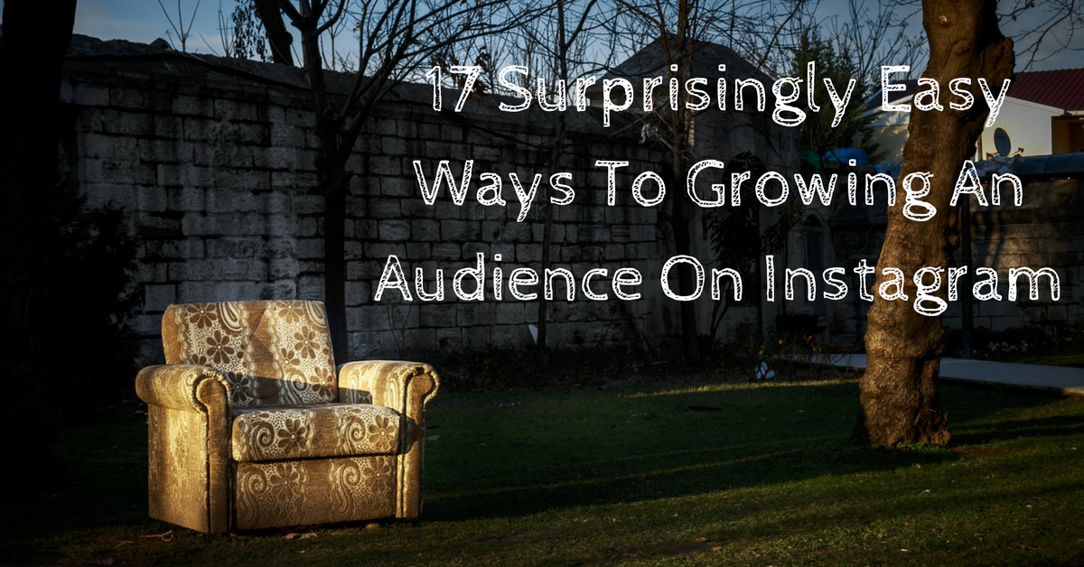 17 Surprisingly Easy Ways To Growing An Audience On Instagram