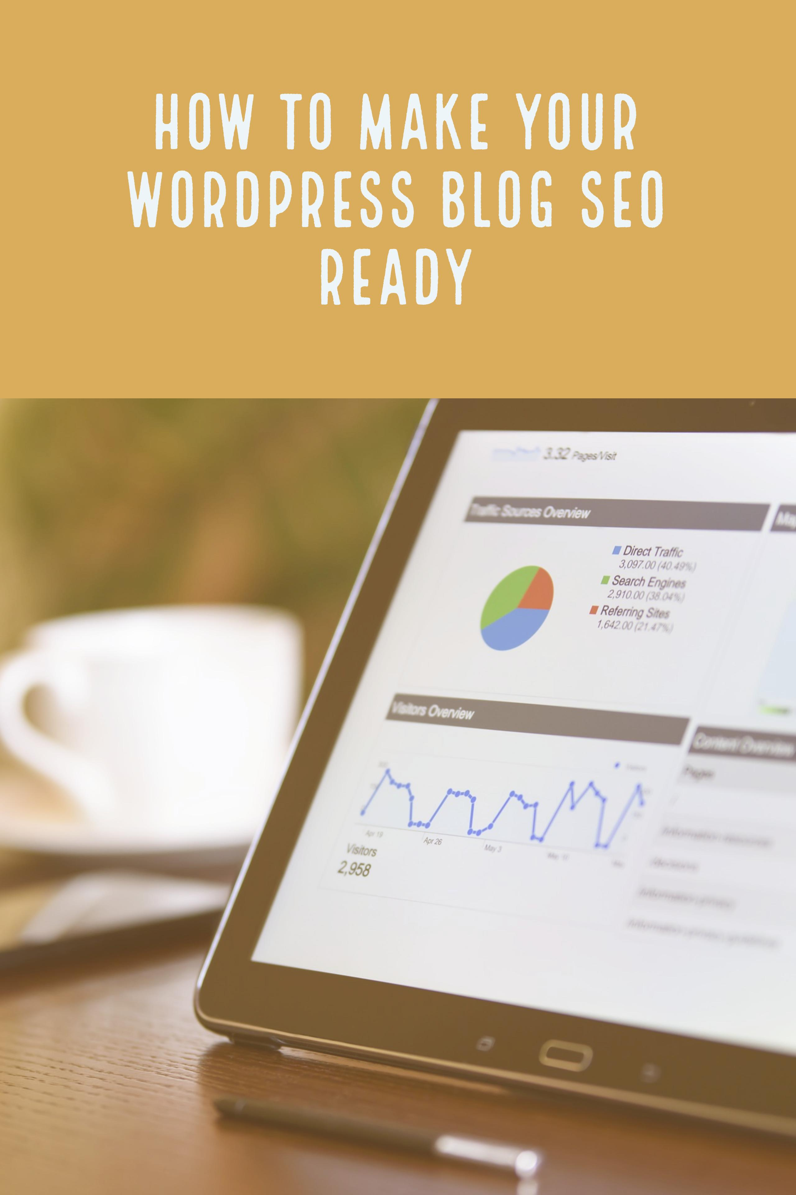 Is your blog really ready for SEO? Sure, you are running WordPress - did you install everything for SEO? Probably not! Here comes your in-depth guide!