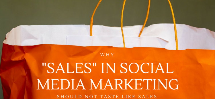 Sales in social media marketing