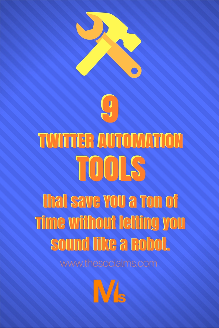 Twitter Automation is key to getting a lot of traffic from Twitter - but you have to do it right. You can't send out promotional messages all the time. Here are 9 Twitter automation tools that save you time without letting you sound like a robot! #TwitterAutomation #TwitterTools