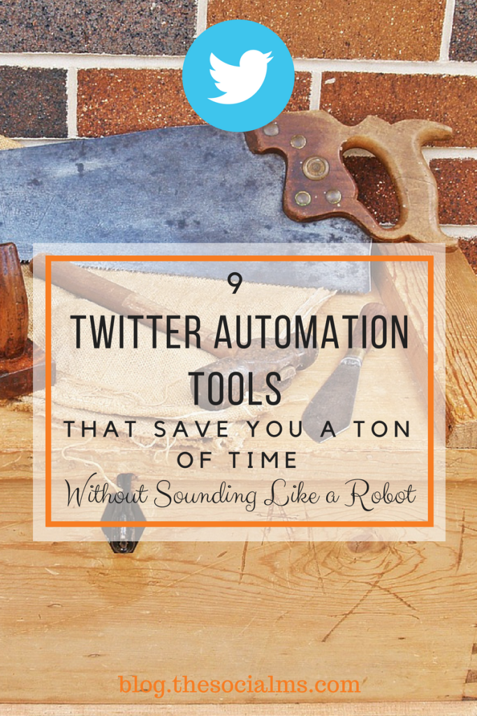 There are a ton of Twitter automation tools to help you keep your Twitter marketing on track. These 9 tools will help you save a ton of time. twitter marketing automation, twitter marketing tips, traffic from twitter