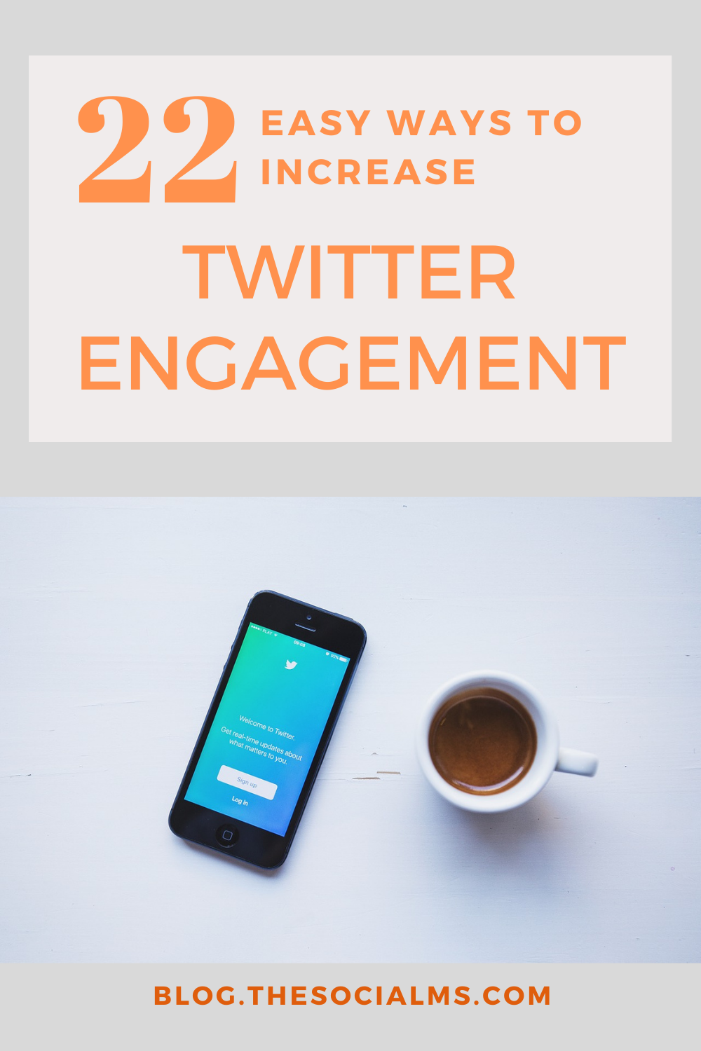 Engagement is crucial for social media marketing success. Here are 22 ways to increase engagement on Twitter that help you build trust and loyalty. Find more social media success with more engagement. #twitter #socialmedia #socialmediatips #socialmediamarketing #socialmediaengagement