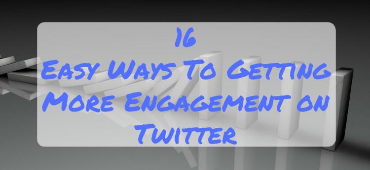 engagement on Twitter