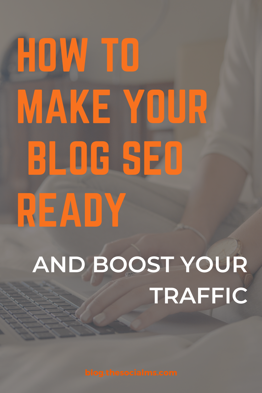 Is your blog really ready for SEO? Sure, you are running WordPress – but did you install all the stuff you need for SEO? All the plugins, online tools, and site upgrades? Here is your guide to set up your blog for SEO. #seo #searchengineoptimization #blogtraffic#trafficgeneration #bloggingtips #blogging101