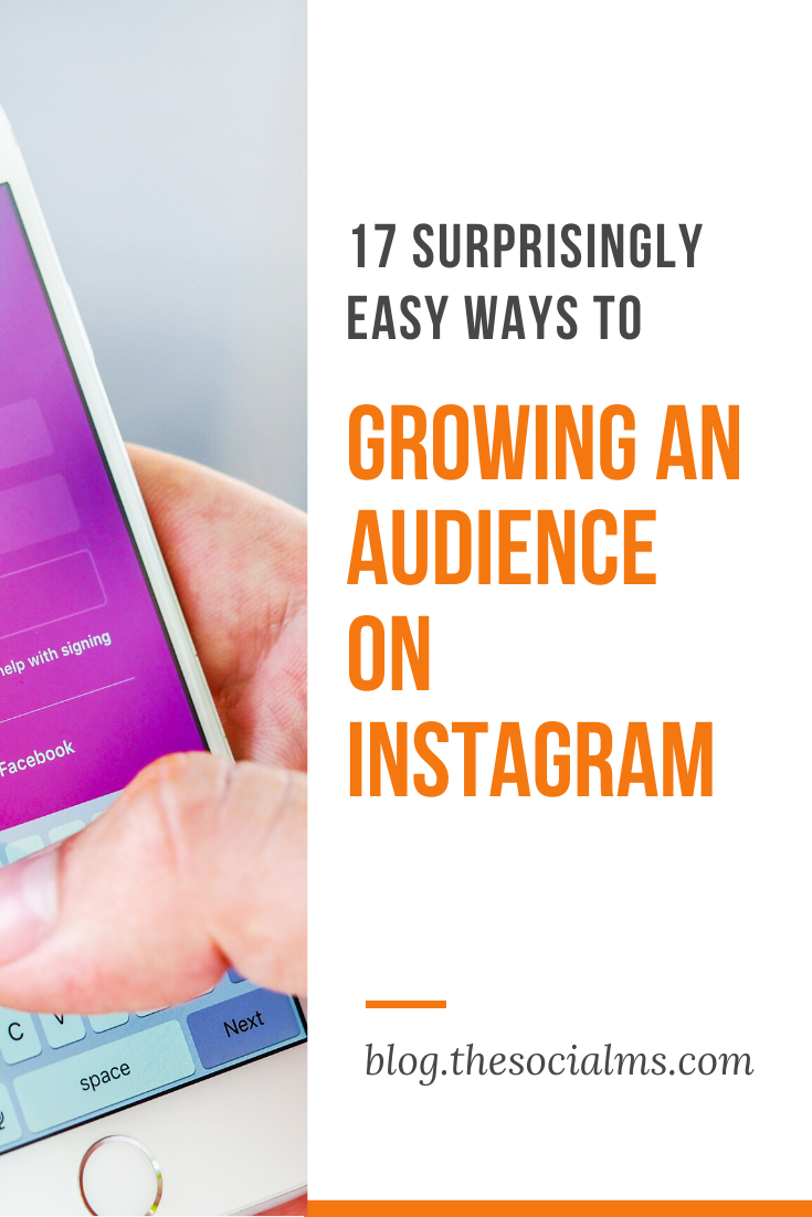 Instagram is a very open and engaged community. It is easy to talk to strangers, and it is also fairly easy to get strangers to follow you – and to engage with you over your shared photos. Here are 16 inspiring ways to grow your audience on Instagram #instagram #instagramtips #instagramaudience #instagrammarketing #instagramstrategy #socialmedia #onlinebusiness #socialmediatips