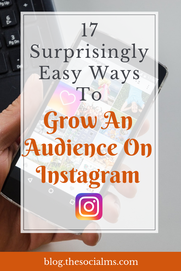 Growing an audience on Instagram is easy - if you know how to inspire likes and engagement. Here are 17 easy ways to get more engagement and followers. Instagram followers that listen to you and engage are key to success. Use creative strategies to grow your Instagram audience. #instagram #instagramtips #instagramstrategy #instagramsuccess