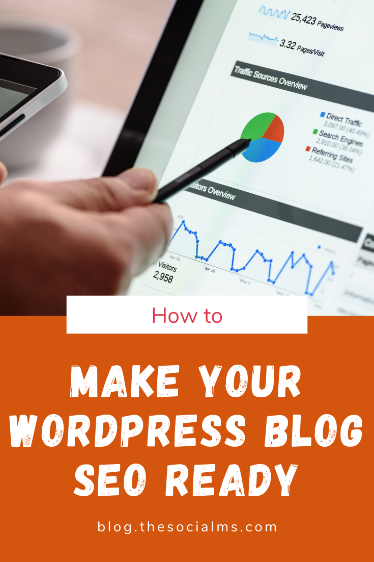 In this article, I will explain everything you need to be prepared to start with SEO. This is mandatory! You will not be performing active SEO without doing most of these steps first. Your SEO for a WordPress blog starts with these steps! #seo #seotips #seoforwordpress #blogseo #blogging101 #bloggingforbeginners #startablog #bloggingtips