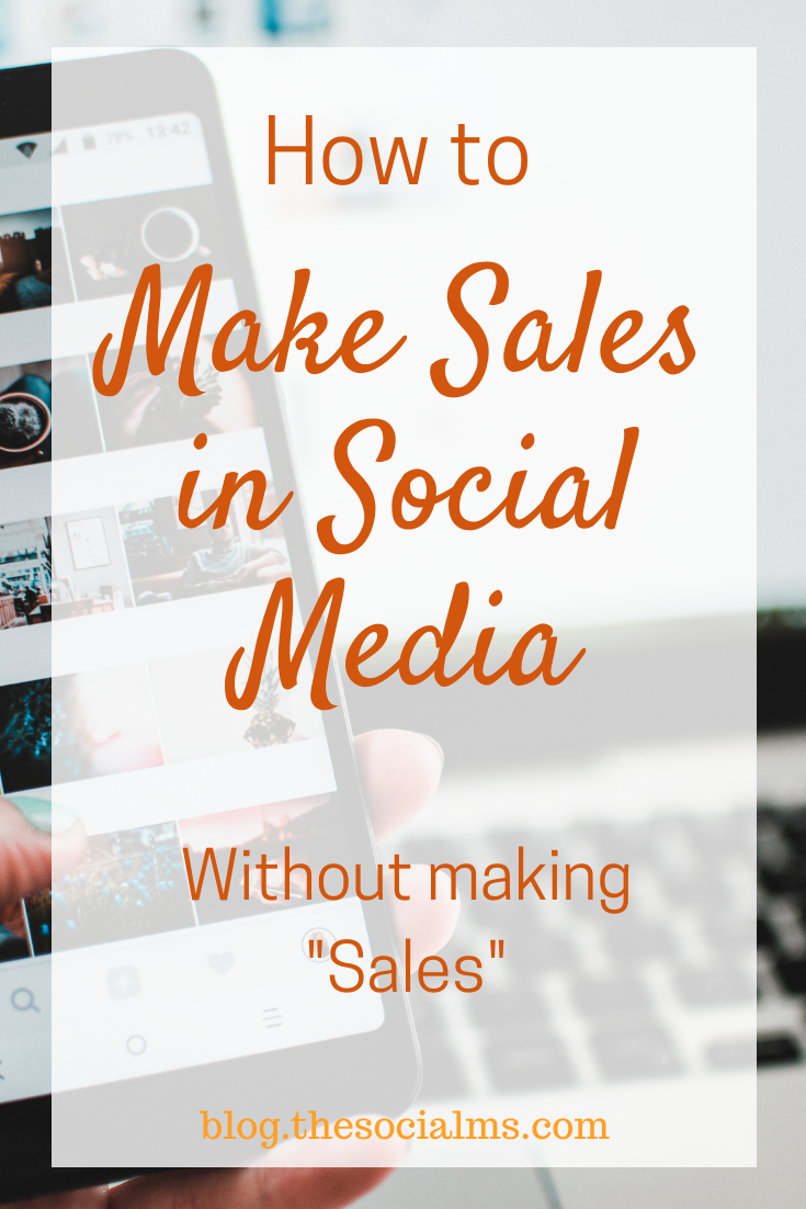 "the relationship between social media marketing and ""sales"" is not clear. Social media is not a direct sales channel but here is what you need to know about selling in social media #makemoneyblogging #salesfunnel #socialmedia #socialselling"