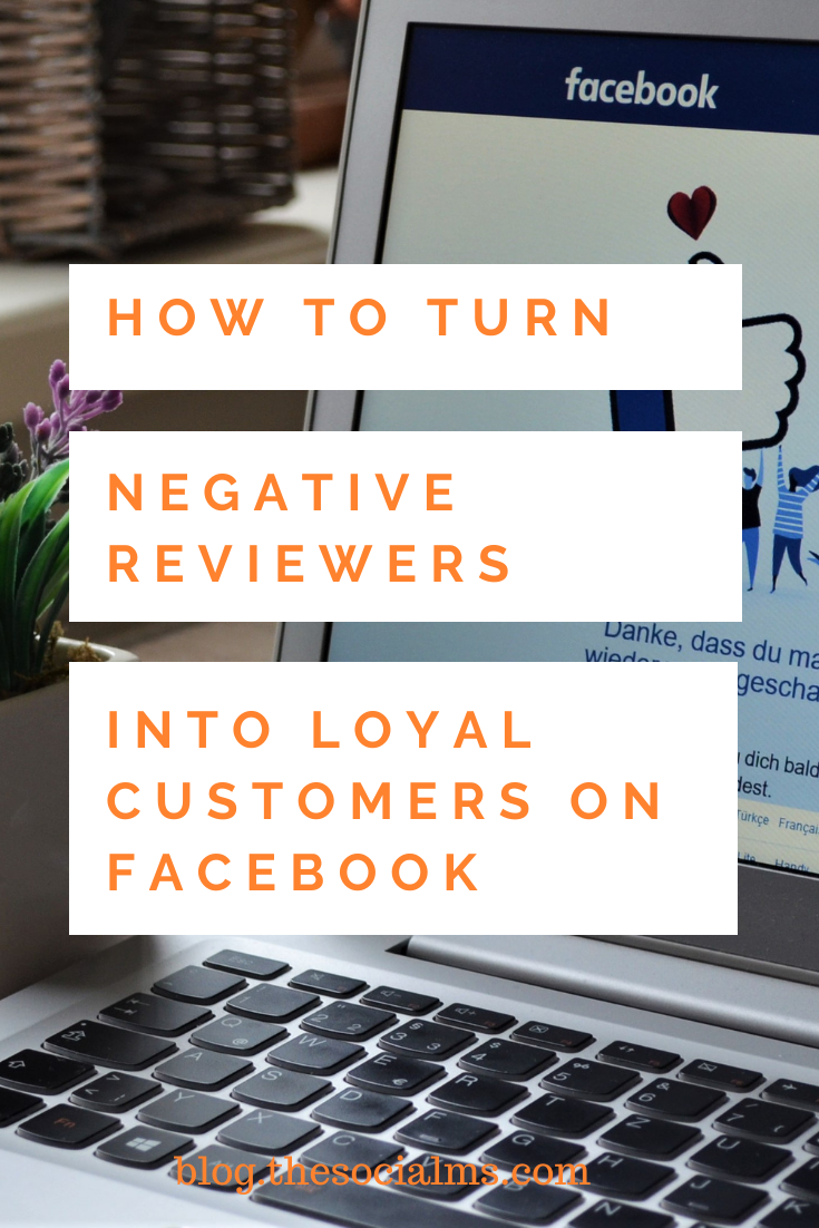 It's hard to read negative Facebook reviews and comments, but they're also impossible to avoid. Instead of being negative and looking at them as disasters, look at them as opportunities to improve, to demonstrate great customer service to everyone who reads the interaction, and to convert reviewers from angry to satisfied customers. #customerservice #facebook #facebooktips #smallbusinessmarketing #socialmediatips