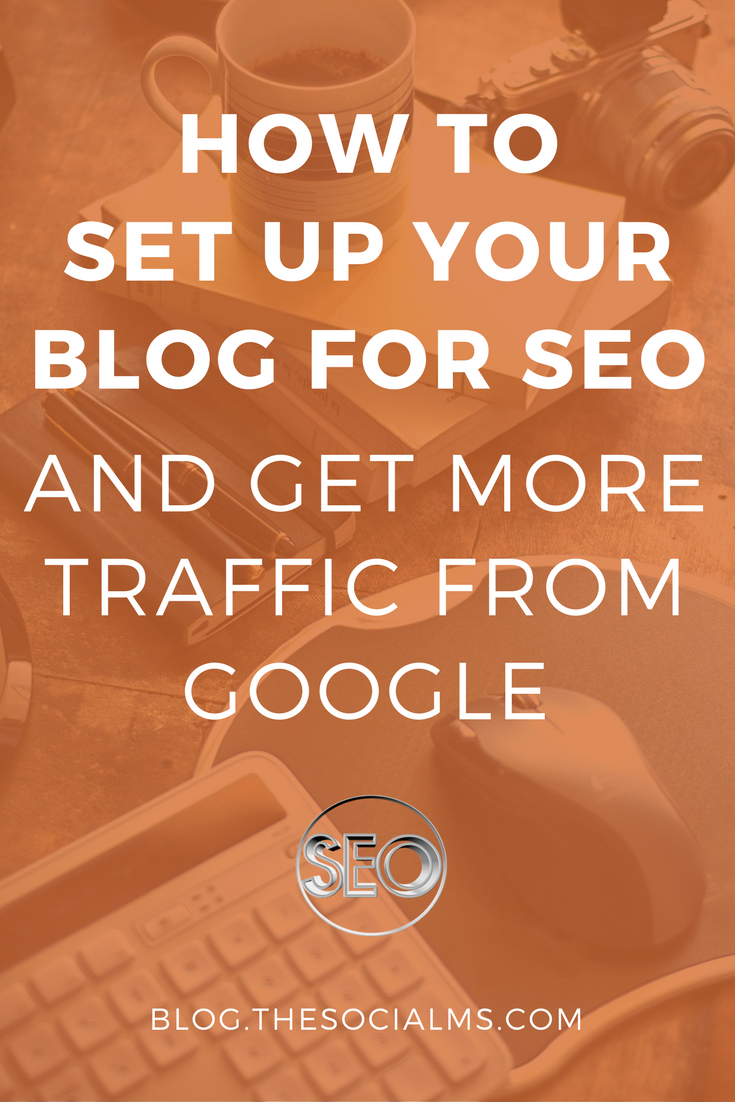 Is your blog really ready for SEO? Sure, you are running WordPress - did you install everything for SEO? Probably not! Here comes your in-depth guide on how to set up your blog for SEO! Drive more traffic to your blog from Google!