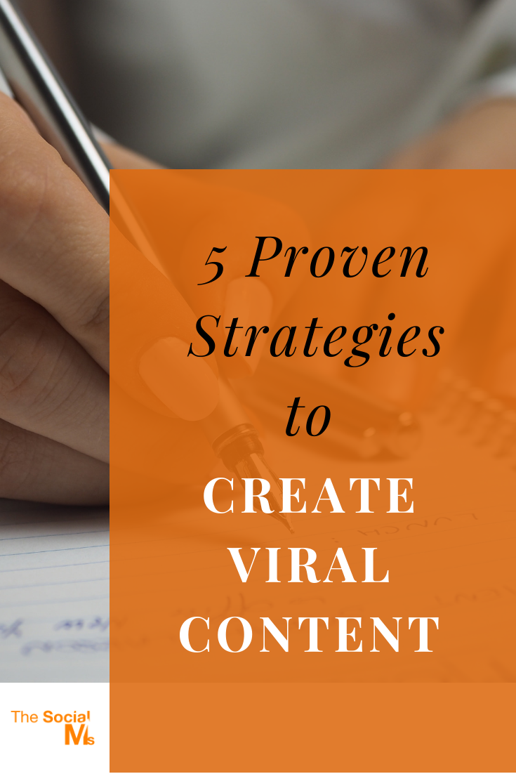 there's no secret formula for creating content that goes viral. No one can predict whether something goes viral or not. But you can make sure that your content has all the proven ingredients of viral content. Here are 5 proven strategies. #viralcontent #contentcreation #blogpostcreation #blogwriting #bloggingtips #contentmarketing #blogging101