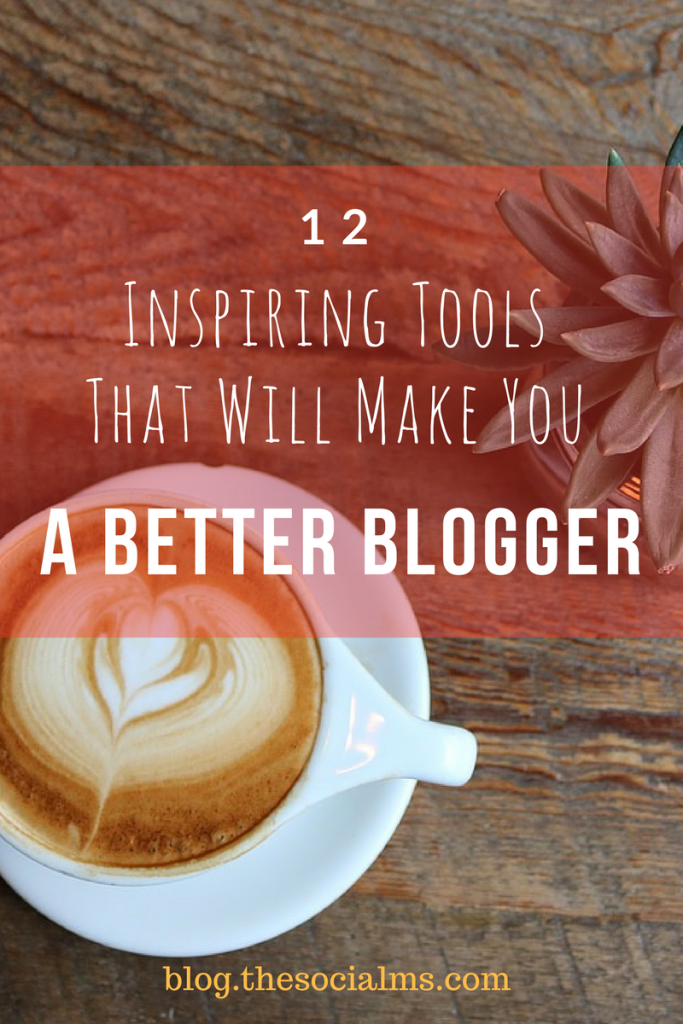 There are endless tools for bloggers that can help with various aspects. Here are 12 tools to help you become a better blogger.