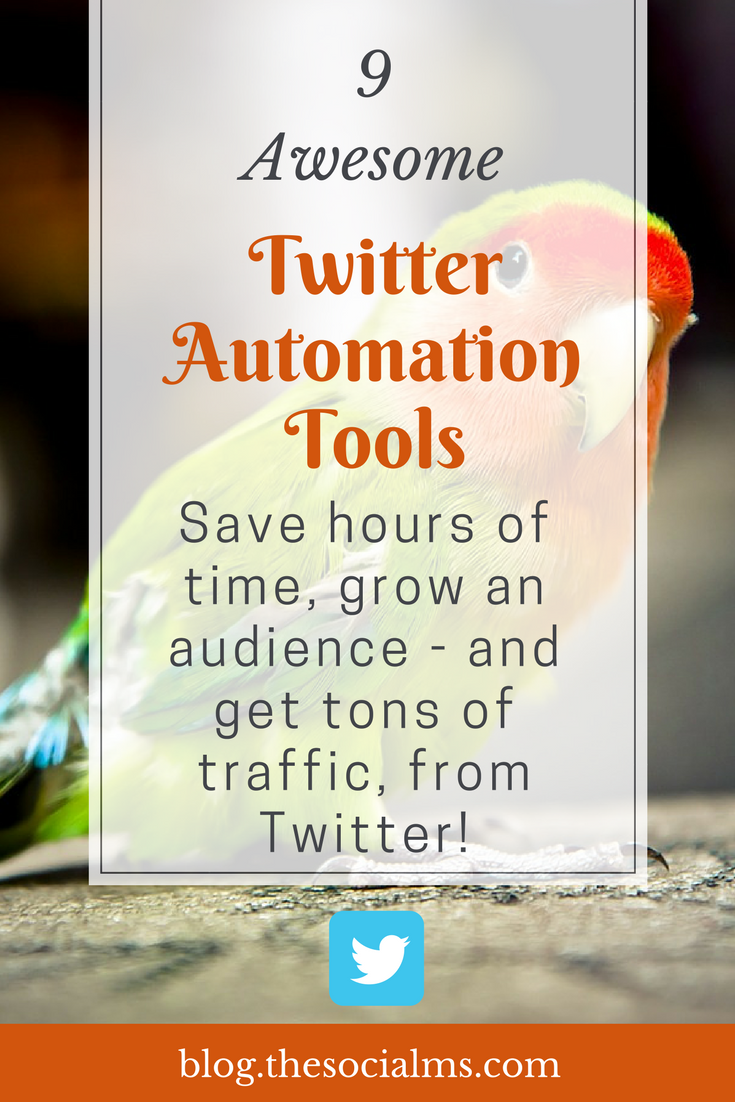 There are a ton of Twitter automation tools to help you keep your Twitter marketing on track. These 9 tools for Twitter will help you save a ton of time, let you automate tweets. Twitter automation software, Twitter follow automation, best Twitter automation software, how to automate your Twitter