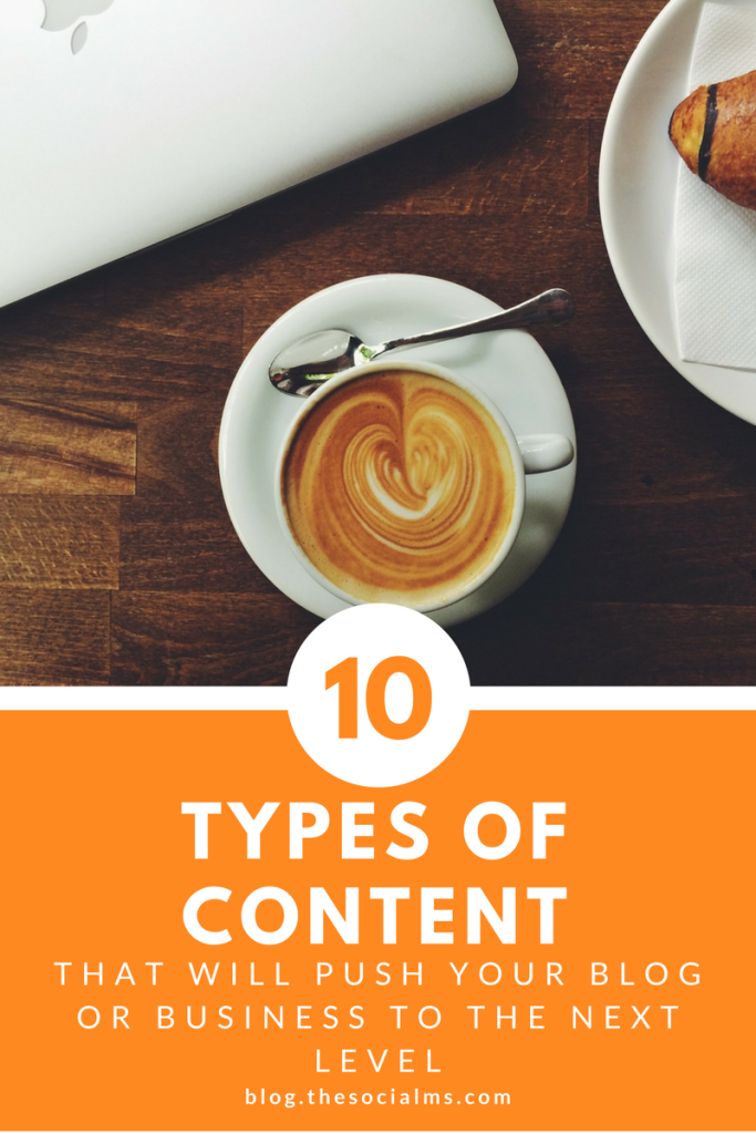Content plays an important part in digital marketing success. Here are 10 types of content have some hidden power for you to unleash. #bloggingtips #contentcreation #blogcontent #startablog