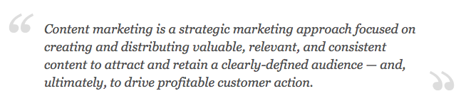 Quote Content Marketing
