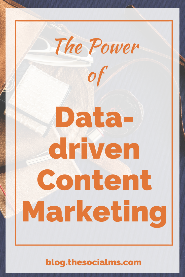 Data can help you to up your content marketing game. You can learn what content works, which topics your audience likes, who your audience is and so much more - all from your content marketing data. Use it! #contentmrketing #contentmarketingstrategy #marketingdata #marketingstrategy