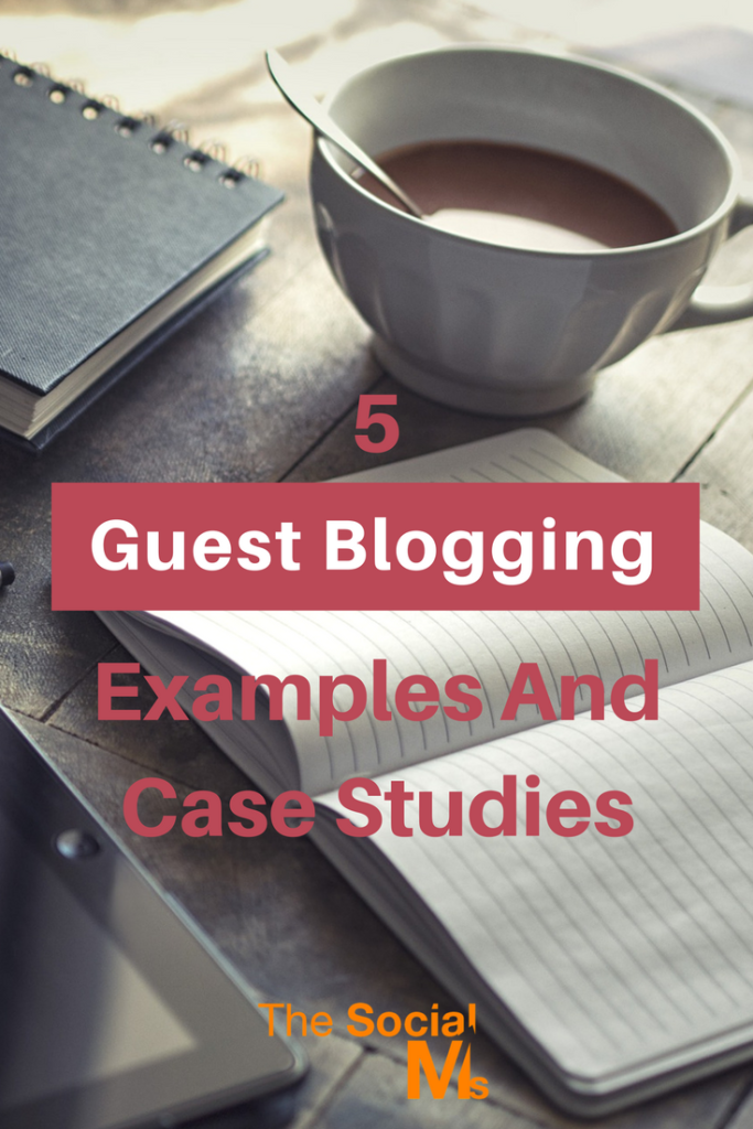 Guest blogging is not dead. Here are 5 guest blogging examples and case studies for you. Learn how to include guest blogging into your marketing strategy.