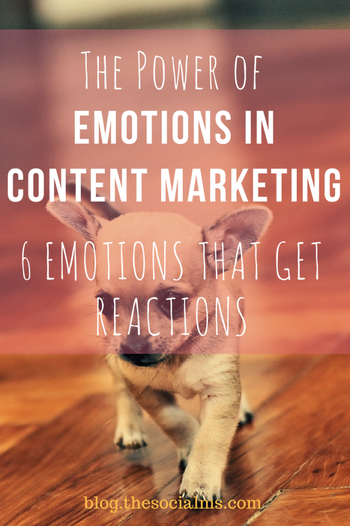 Here are the emotions in content marketing that inspire the most reactions in form of shares and even sales. Use them to get more out of your marketing!
