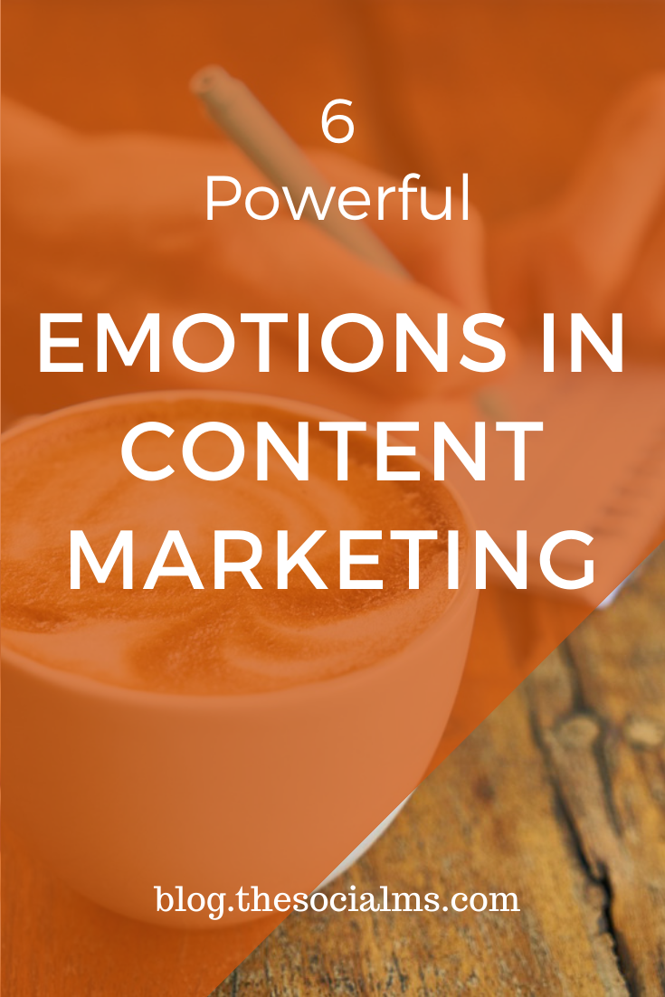 Emotions have tremendous power to trigger reactions. Here are the emotions in content marketing that inspire the most reactions in form of shares and even sales. #contentmarketing #contentmarketingstrategy #contentcreation #