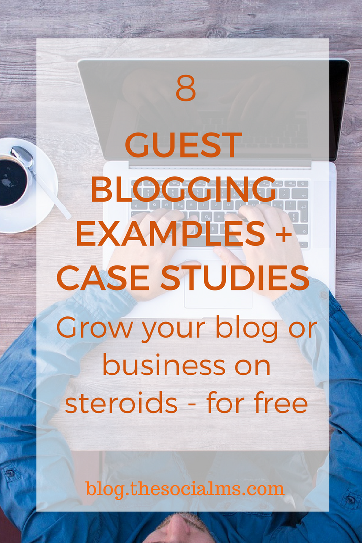 Guest blogging is not dead. Here are 5 guest blogging examples and case studies for you. Learn how to include guest blogging into your marketing strategy. guest posting examples, guest blog post examples
