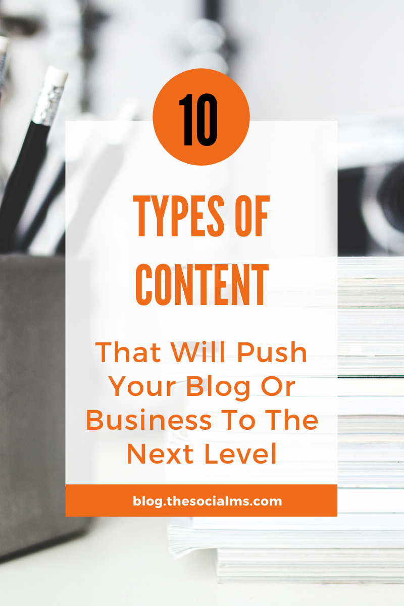 There are so many options for stories to tell and types of content to create for your business. But some types of content have some hidden power you should know about – and put to work to boost your business. #blogcontent #contentcreation #contentmarketing #blogpostcreation #blogwriting #contentypes #bloggingtips