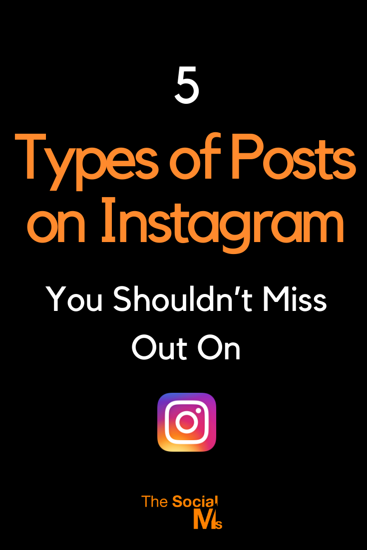 Do you use all the other types of updates that Instagram offers? Here are 5 types of posts on Instagram that you should consider to spice up your Instagram activity.