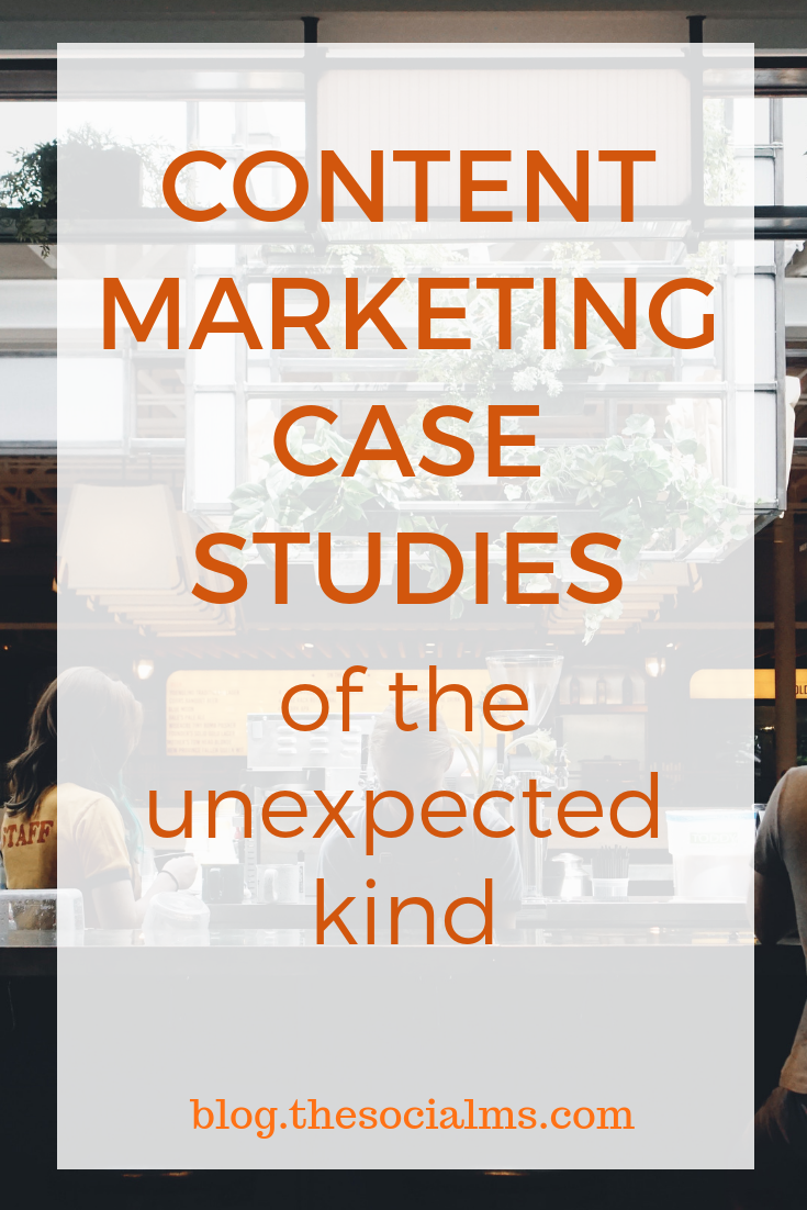 If you're looking for some new approaches to your content marketing strategies here are three strange, but relevant, content marketing case studies. #contentmarketing #contentmarketingcasestudies #contentmarketingtips #contentmarketingstrategy