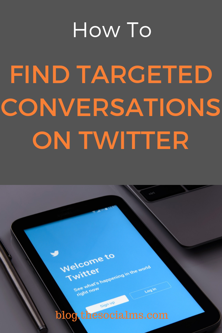 They are still happening: the conversations on Twitter. They get harder to find and you have to invest some time to find and monitor them. Finding the right conversations and joining in can be a great way to get leads and new customers. #twitter #twittermarketing #twitterleadgeneration #twittertips
