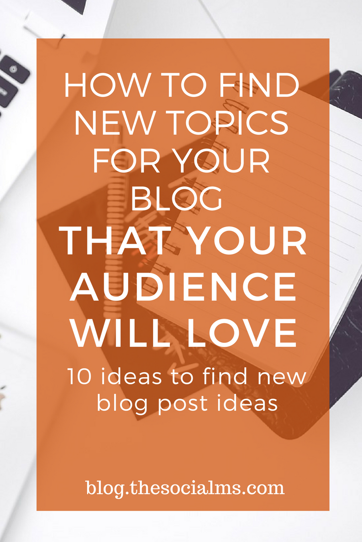 Are you stuck? The harder you try to come up with blog post ideas – the less creative your feel. Here are 10 creative ideas to find new blog post ideas. blogging tips. find new blog post ideas