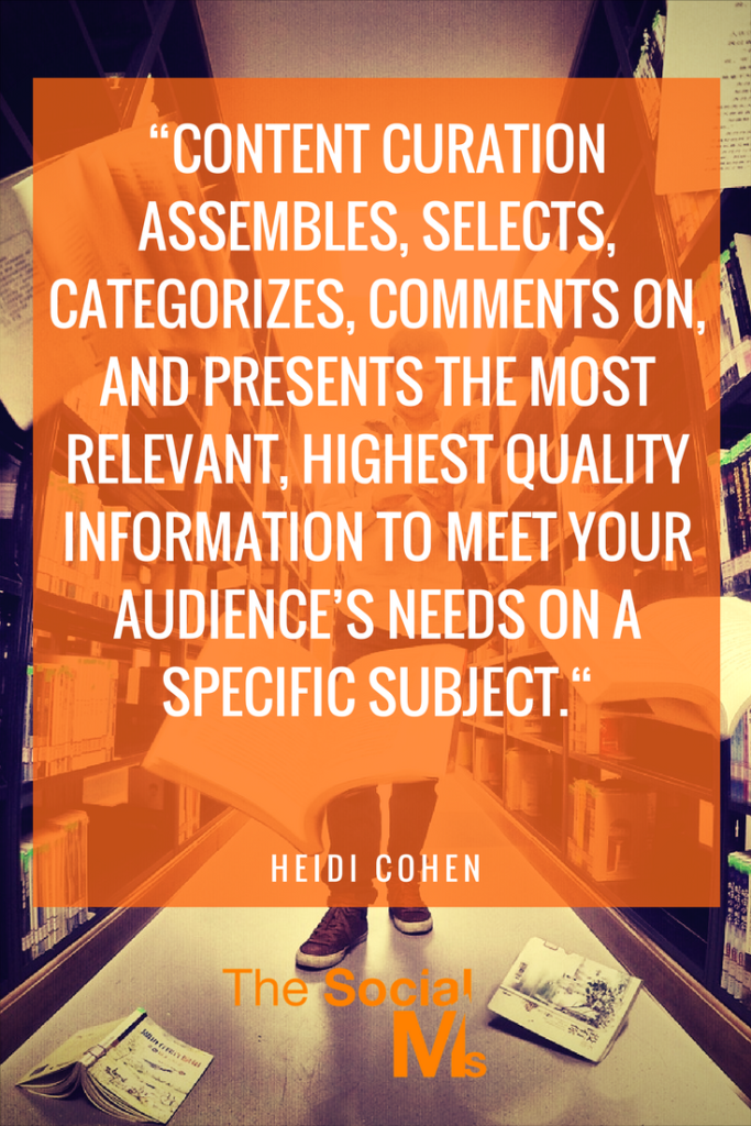 Heidi Cohen on what content curation really is
