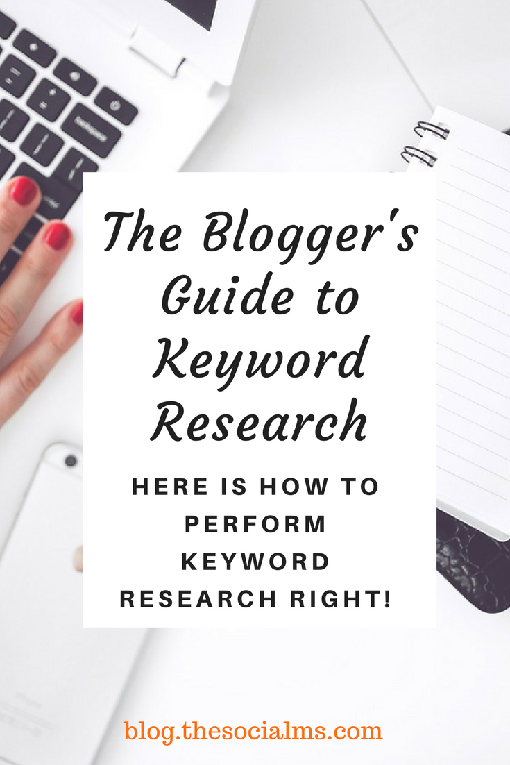 Keyword research is one of the basic content writing steps, it is the foundation of good content creation: Here is how to perform keyword research right! #keywordresearch #seo #bloggingtips #blogtraffic #bloggingtips