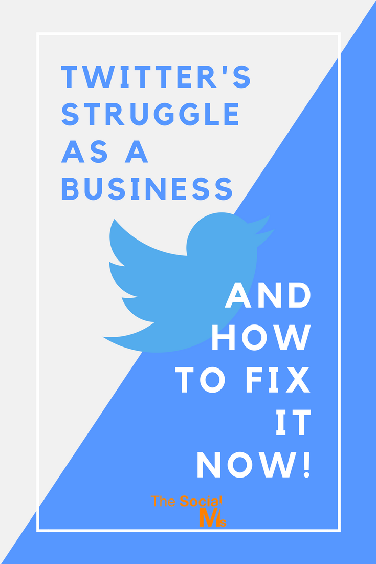 Twitter is struggling as a business - but it shouldn't be. The community on Twitter is awesome, and truly special even compared to other social networks. With just a few tweaks, Twitter should be back on the road of success.