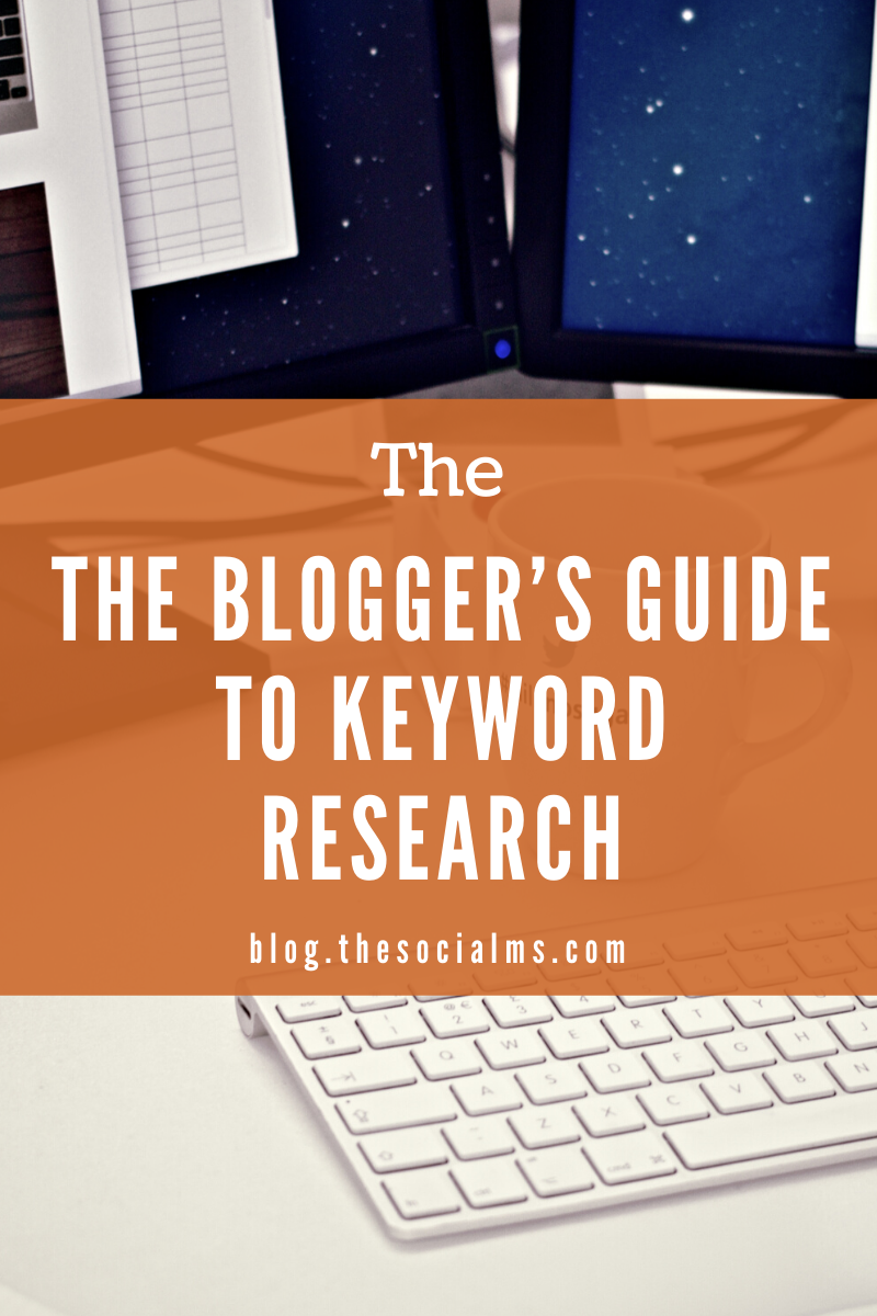 This guide aims at helping a blogger to better understand the keyword research process and to become more efficient at finding valuable keywords and implementing them in the content. #bloggingtips #keywordresearch #seo #blogpostcreation #bloggingforbeginners #bloggingsuccess #blogtraffic