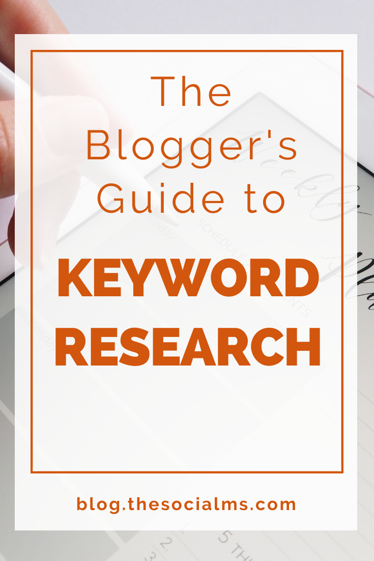 This guide aims at helping a blogger to better understand the keyword research process and to become more efficient at finding valuable keywords and implementing them in the content. How to Use Keyword Research to Optimize Your (Old and New) Blog Posts #bloggingtips #blogwriting #seo #keywordresearch #contentcreation #contentmarketing #blogtraffic