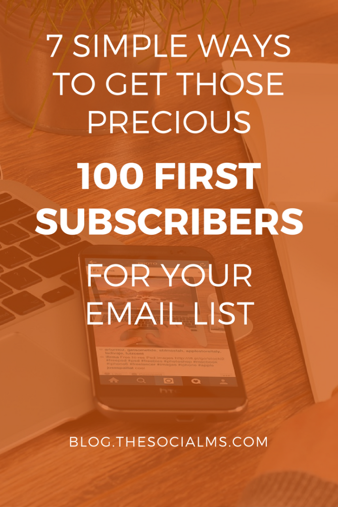 It's hard to grow an email list when traffic is still low. Here are tips to grow email subscribers - when you are starting out and don't have traffic.