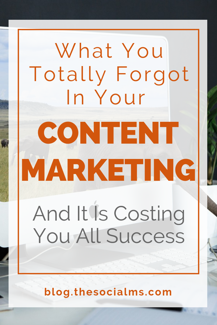 Content marketing is much more than creating content. Here is what you need apart from content to make your content marketing thrive and successful. Here is what most people ignore when they start their content marketing - and how you can make sure that you have all the pieces of content marketing in place. #contentmarketing #contentmarketingstrategy #bloggingtips #contentdistribution #contentmarketingsuccess