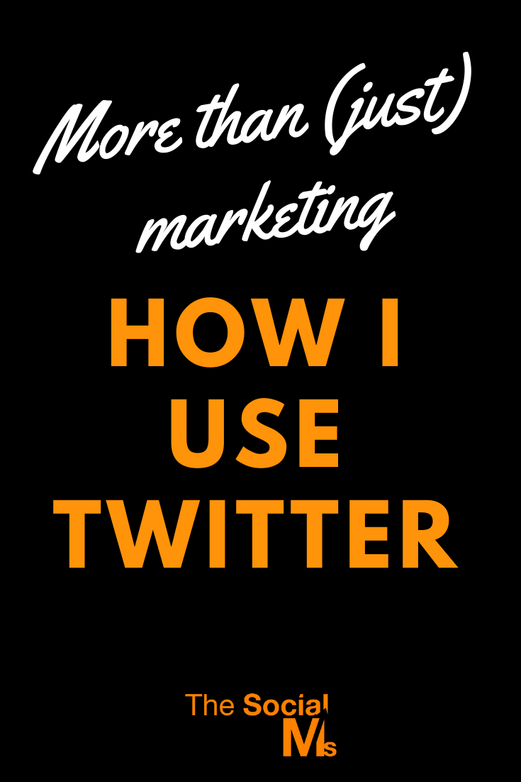 when I turn to Twitter, most of the time it is not marketing related at all. Because there is so much that Twitter can do for you. Here are the best ideas to use Twitter if you are not thinking about marketing #twitter #twittertips #twittermarketing #socialmedia #socialmediatips