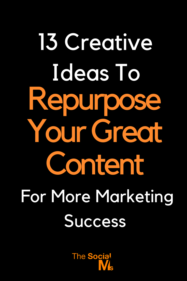 Creating enough content is one of the biggest challenge content marketers and bloggers face. And sometimes it feels that a post is already old right after we published it. A solution to this dilemma could be to repurpose content that you already have and turn it into new content. #contentmarketing #contentcreation #blogwriting #blogcontentcreation #bloggingtips #blogging101 #bloggingforbeginners