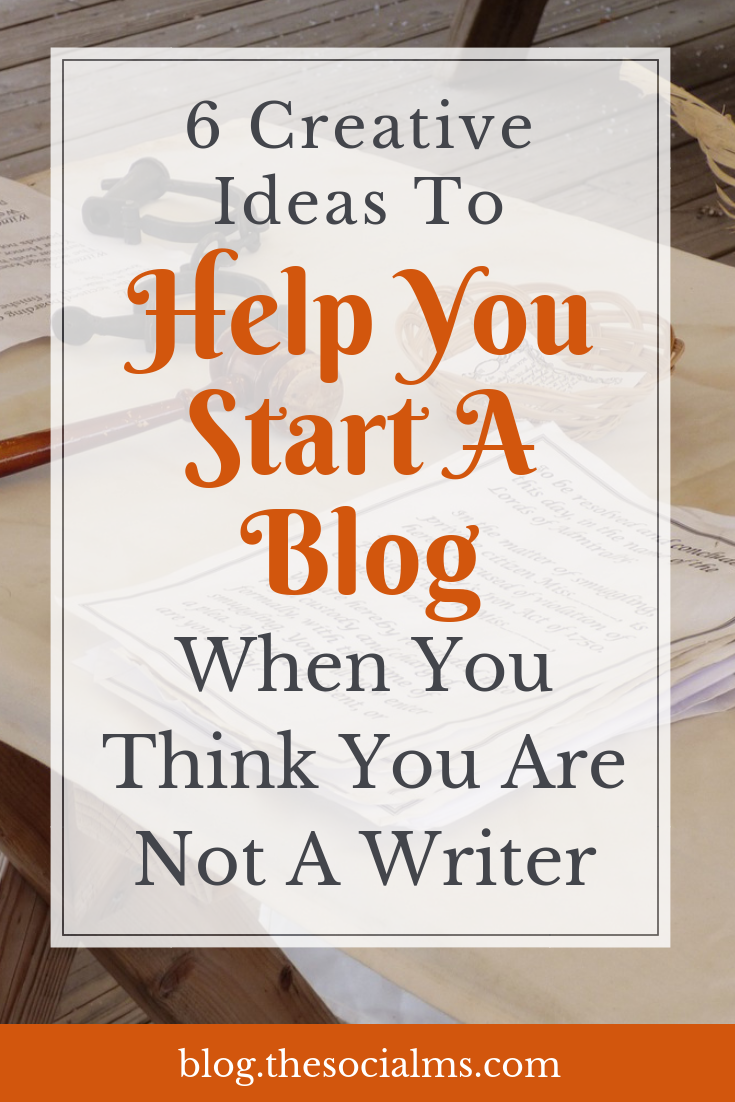 If you want to go for online marketing success, you should start a blog. And you don't need to be the best of writers to be a successful blogger. Do you want to be a writer but are afraid that your writing is not enough? Check out these tips and start being a blogger and writer today. #startablog #bloggingforbeginners #bloggingtips #bloggingsuccess
