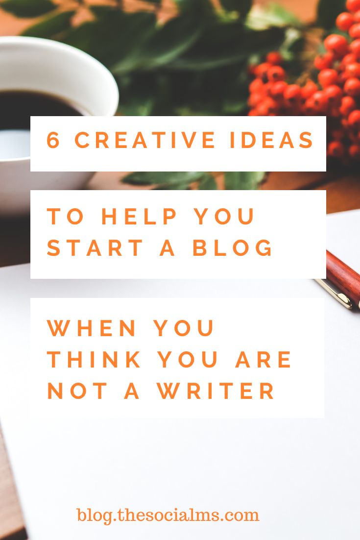 there are some types of content that can help you fill the need for fresh content for your blog – even when you are not the most polished writer #bloggingtips #startablog #bloggingforbeginners #blogcontent