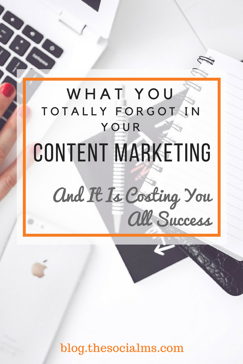 Content marketing is much more than creating content. Here is what you need apart from content to make your content marketing thrive and successful.