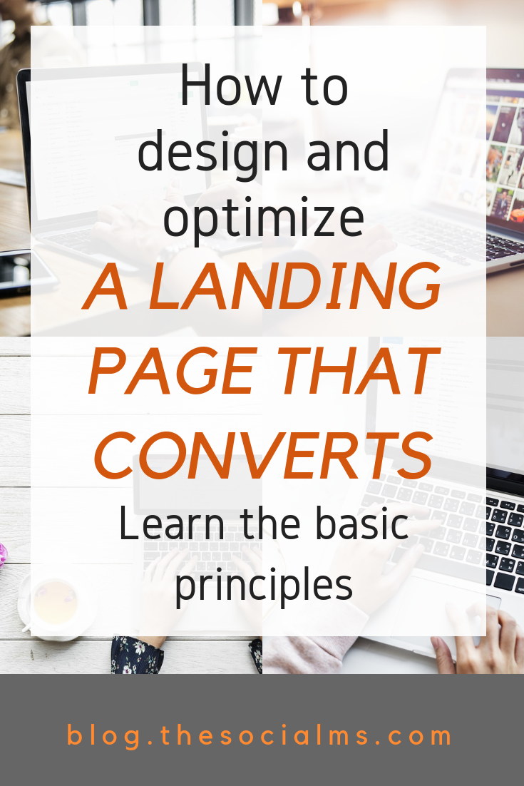 What are the basics of a super converting landing page? Here are best practices and things to keep in mind to create a landing page that converts. Better conversions mean more sales and more money. A simple optimization of your landing page can easily multiply your revenue. #bloggingformoney #makemoneyblogging #landingpage #bloggingtips #onlinebusiness #bloggingsuccess